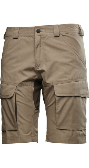 Lundhags W's Authentic Shorts Oat/Tea Green